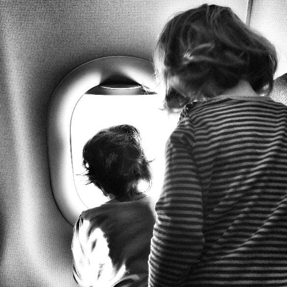 Volar con bebés de dos años