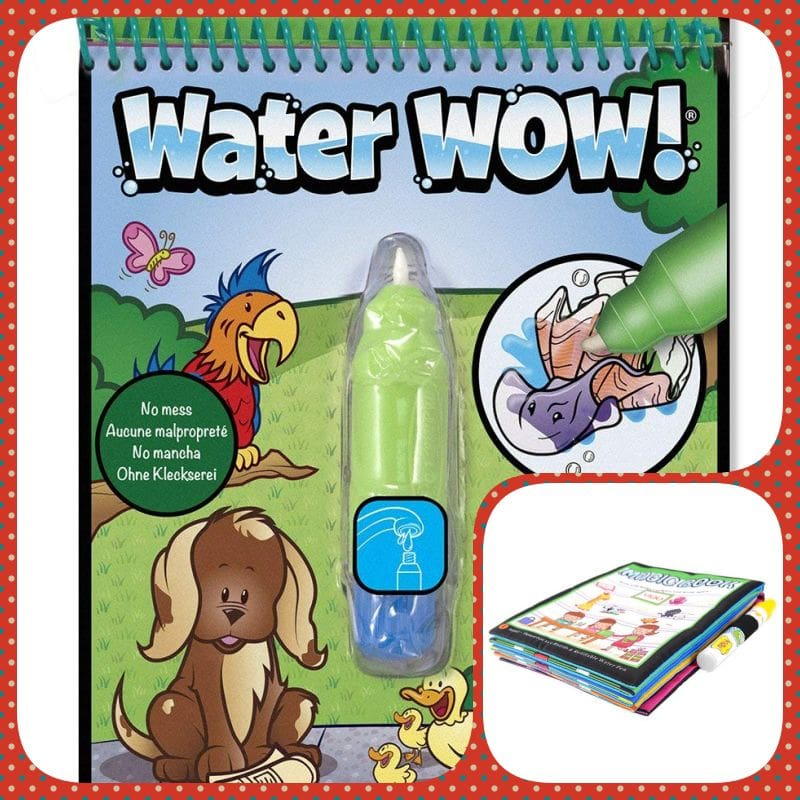cuadernos pintar con agua
