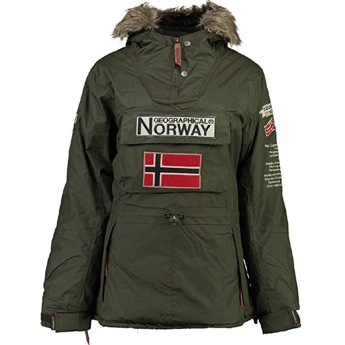 Geographical Norway Chaqueta Mujer Kaki