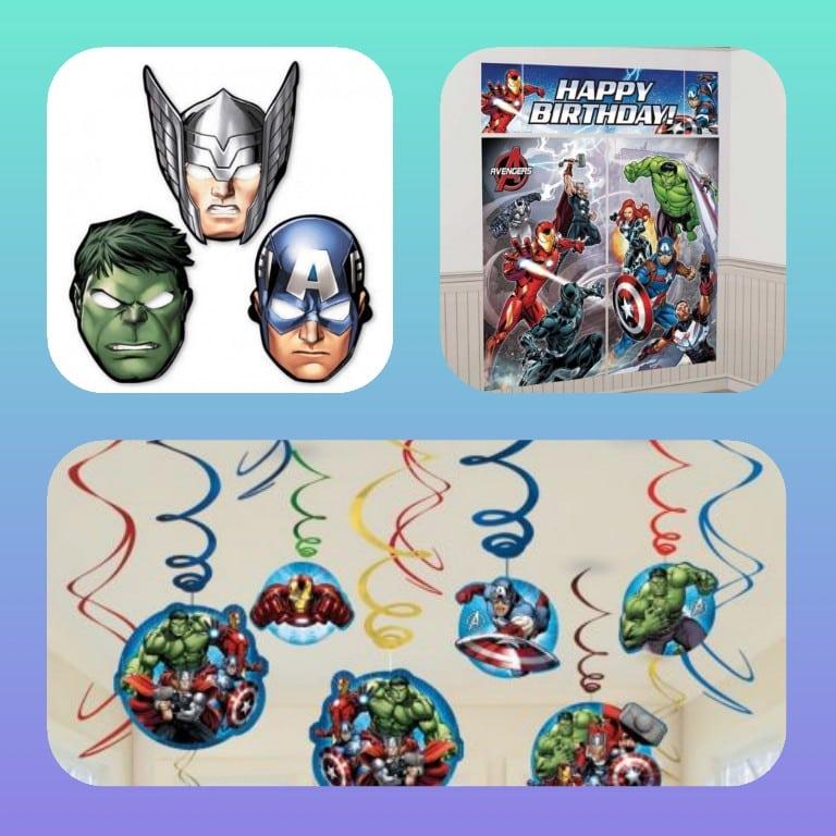 ideas decoracion fiesta avengers