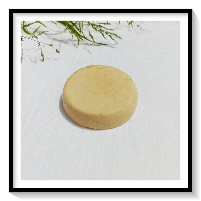 Jabón sólido (Champú) purificante de caolín, jenjibre y mandarina roja